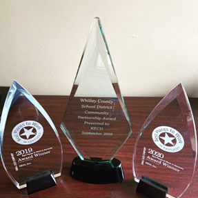 KECH - Community Partnership award - Whitley County
